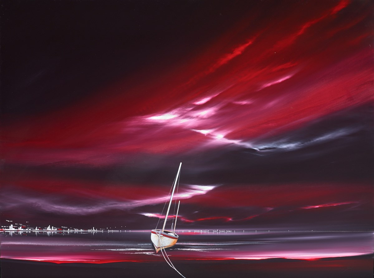 Noir Sky I by jonathan shaw -  sized 40x30 inches. Available from Whitewall Galleries